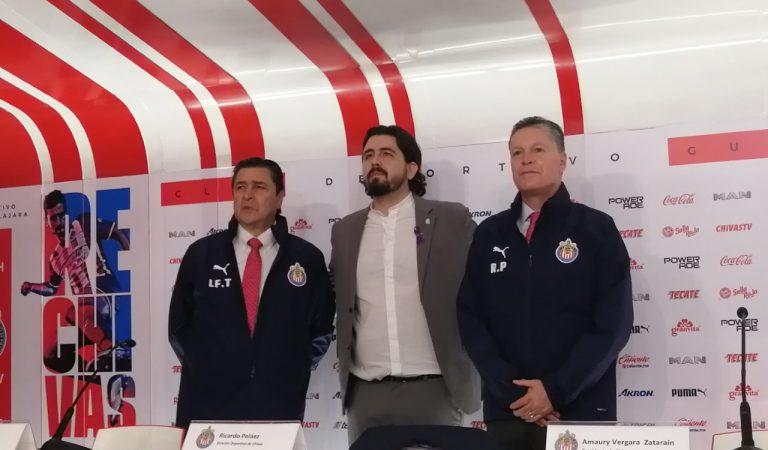 """""""A partir de ahora se hablará de liguillas y títulos en Chivas, quedó atrás la pelea porcentual"""": Ricardo Peláez"""