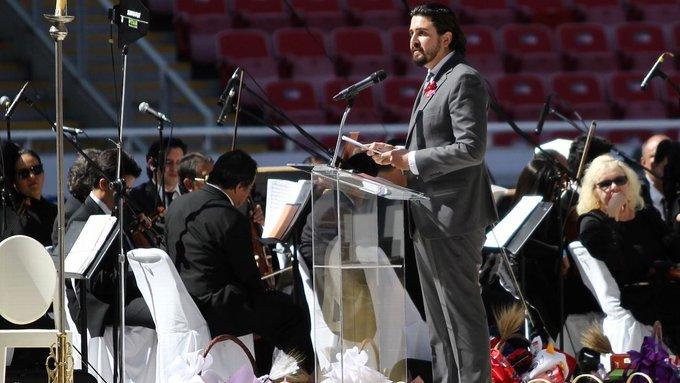 Jorge Vergara recibió Homenaje Póstumo