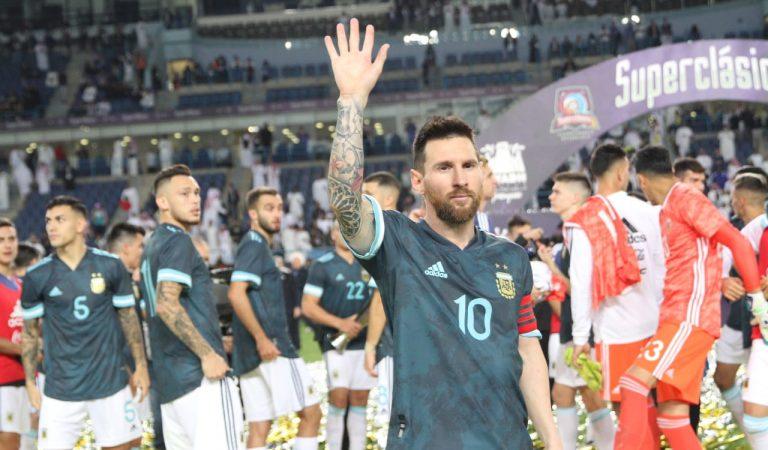 Messi vuelve con Argentina y gana en el Clásico de Sudamérica
