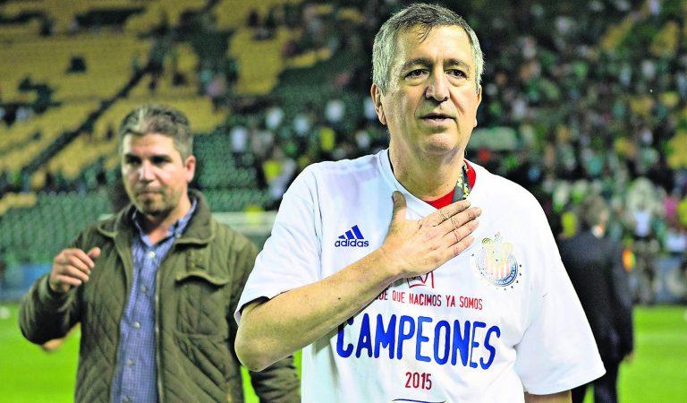 Las glorias de Jorge Vergara con el Guadalajara