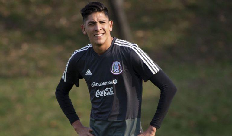 Edson Álvarez no terminó el entrenamiento con la Selección Mexicana