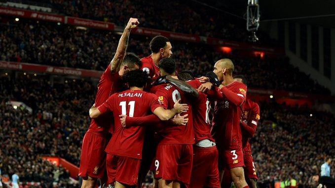Liverpool, más líder que nunca de la Premier League