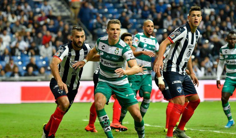 Monterrey saca una gran ventaja tras vencer al Santos Laguna
