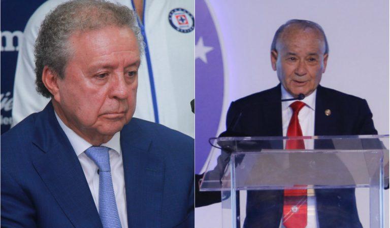 """Piden salida de """"Billy"""" Álvarez y Víctor Garcés de Cruz Azul"""