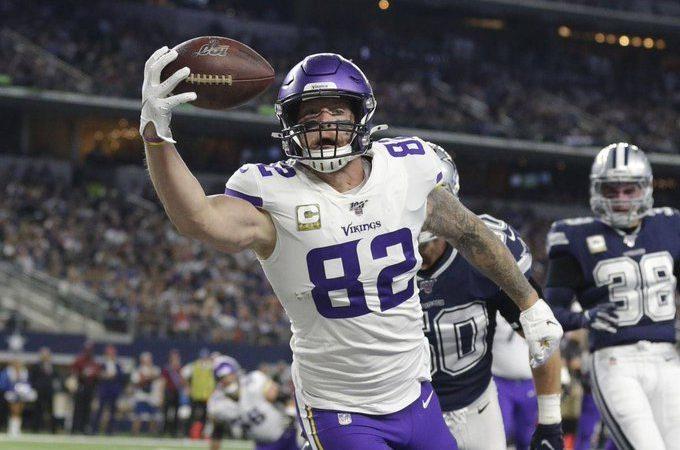 Vikings dan un golpe sobre la mesa al vencer a Dallas Cowboys