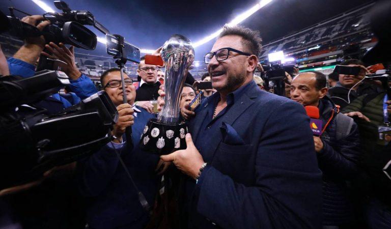 ¿Por qué Antonio Mohamed le dio el título a Rayados?