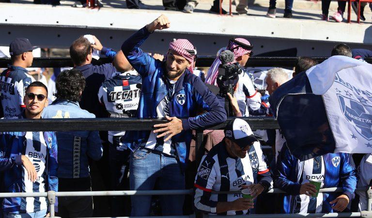 Rayados de Monterrey celebró el título con sus aficionados