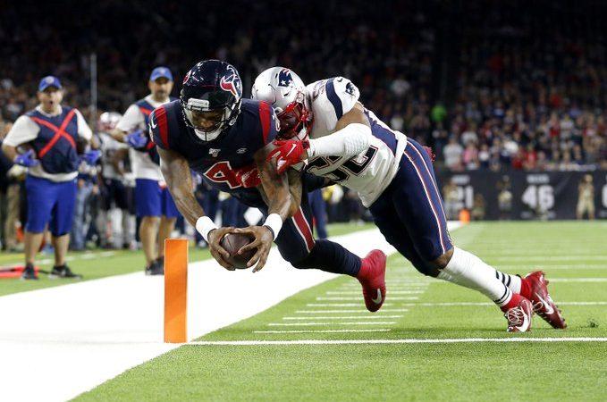 Houston derrota a New England en mágica noche de Deshaun Watson