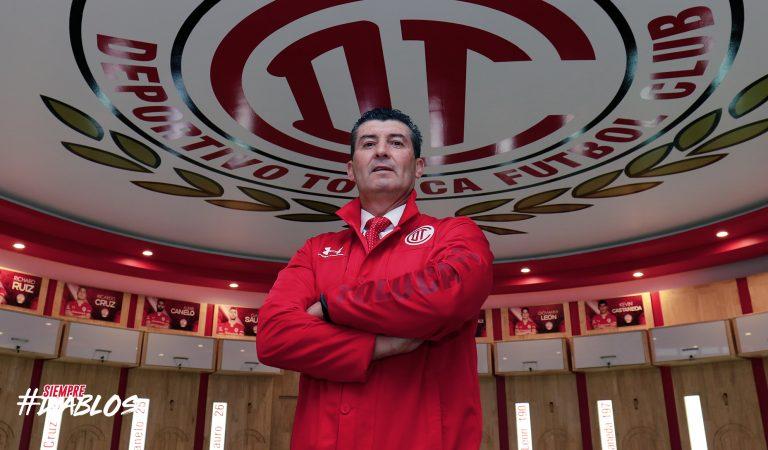 José Manuel de la Torre, presentado de manera oficial como técnico del Toluca