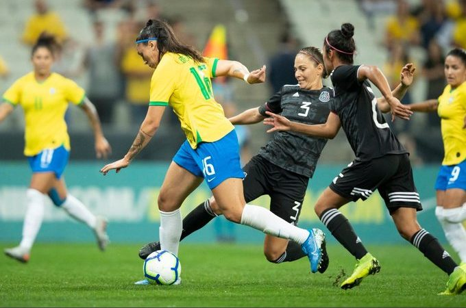 La Selección Mexicana Femenil cae por goleada ante Brasil