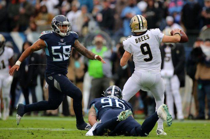 Los Saints vencen en duelo ofensivo a Titans