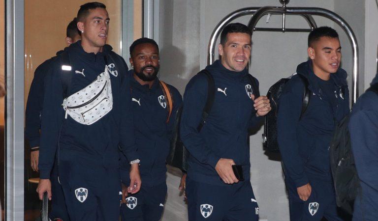 Rayados llegó a Qatar para el Mundial de Clubes