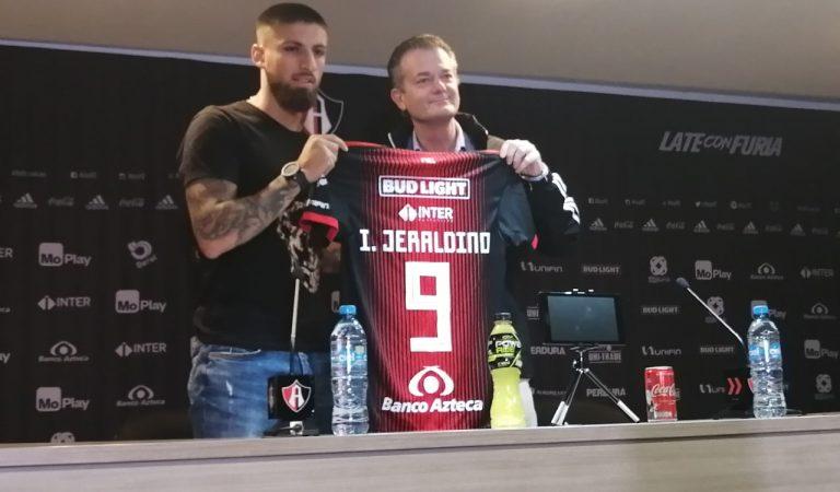 """""""Mi objetivo es que Atlas sea un equipo protagonista"""": Ignacio Jeraldino"""