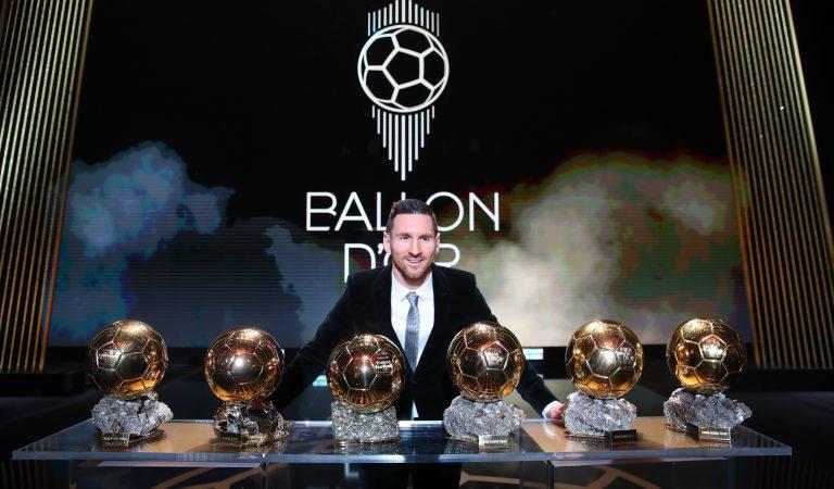 Lionel Messi gana el Balón de Oro 2019