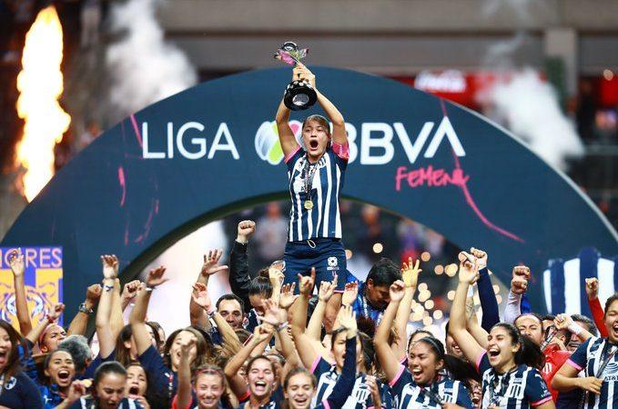 Rayadas son las nuevas campeonas de la Liga MX Femenil
