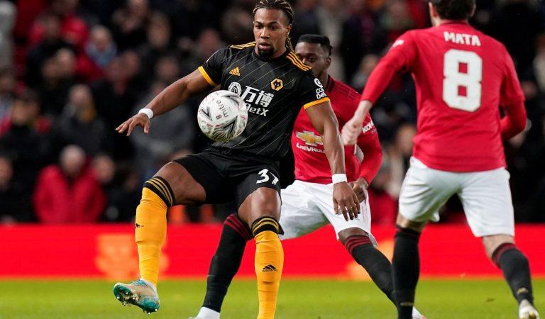 Raúl Jiménez y Wolverhampton quedan eliminados de la FA Cup a manos del Manchester United