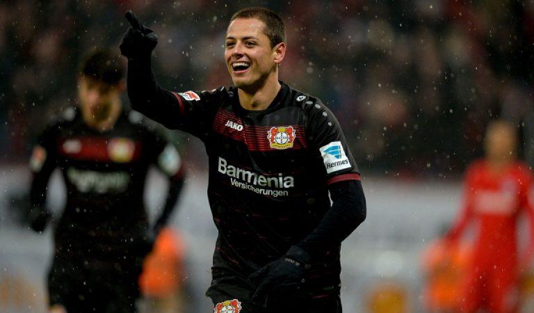 Javier Hernández comanda el XI de la década latina en la Bundesliga