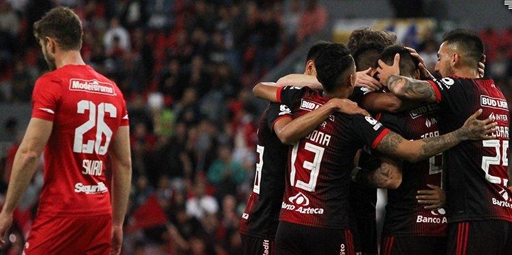 Atlas se lleva ventaja en la serie de Copa MX frente al Toluca