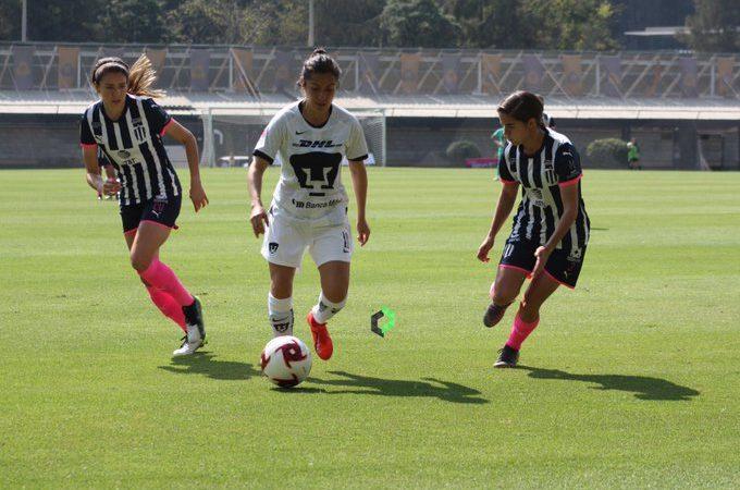 Pumas y Rayadas brindan espectacular empate en la Liga MX Femenil