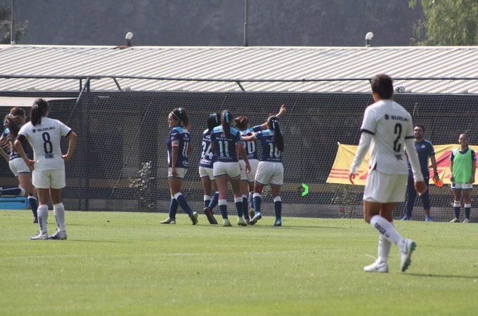 Puebla Femenil goleó a Pumas en el inicio del Torneo Clausura 2020