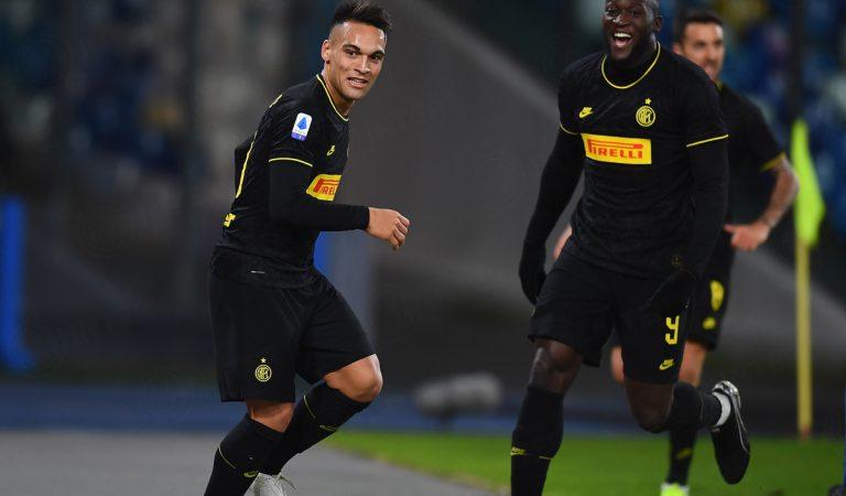 Inter se mantiene en la cima de la Serie A con su triunfo ante Napoli