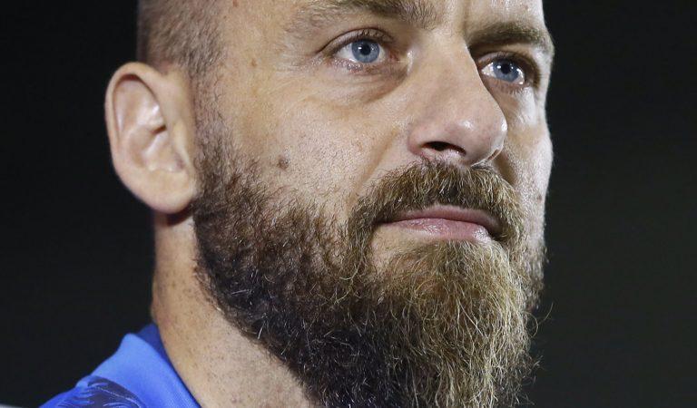 Daniele de Rossi anunció su retiro del futbol