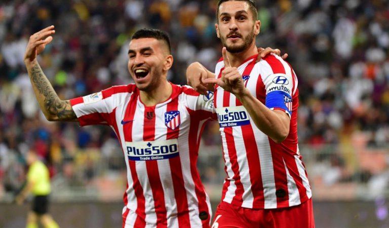 Atlético de Madrid es el segundo finalista de la Supercopa de España