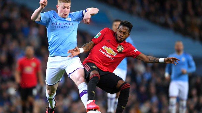 Manchester United gana, pero queda eliminado en la Copa de la Liga a manos del City