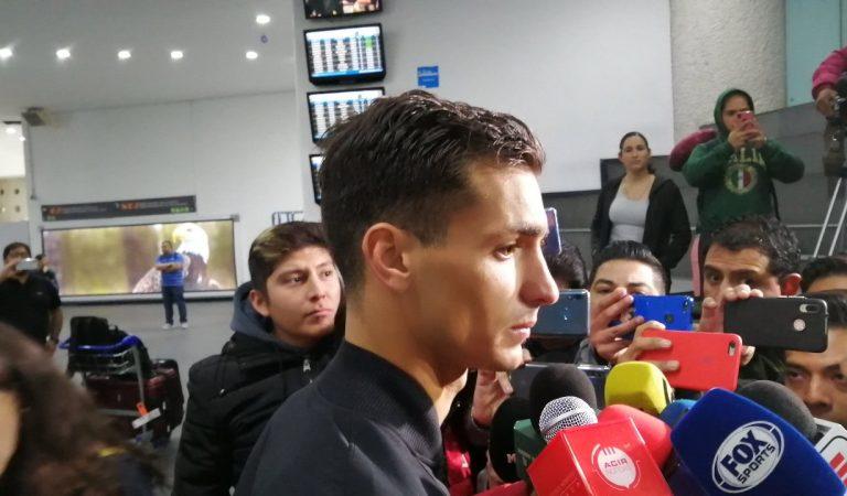 Juan Ignacio Dinenno ya está en la CDMX