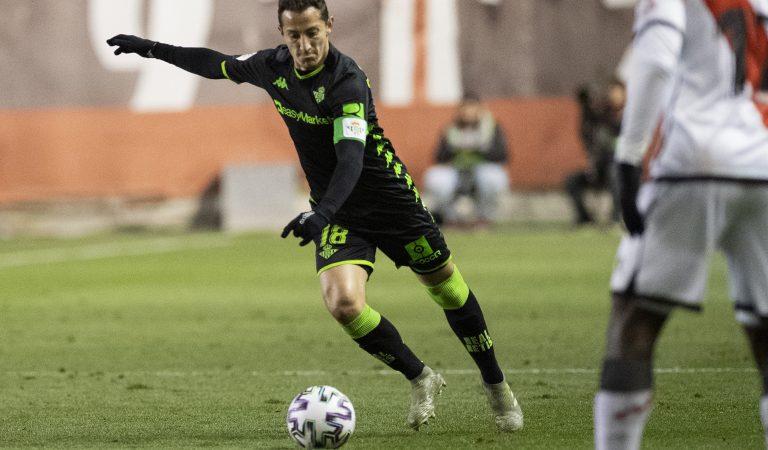 Héctor Herrera, Néstor Araujo y la dupla Guardado-Lainez, eliminados de la Copa del Rey