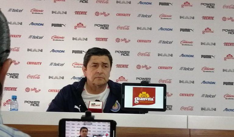 """""""Tenemos un agradable problema"""": Luis Fernando Tena"""