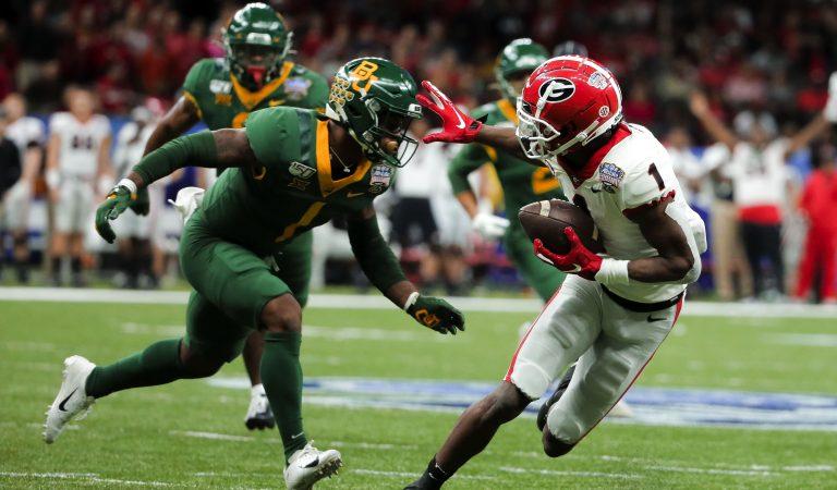 Georgia Bulldogs se llevó la victoria en el Sugar Bowl