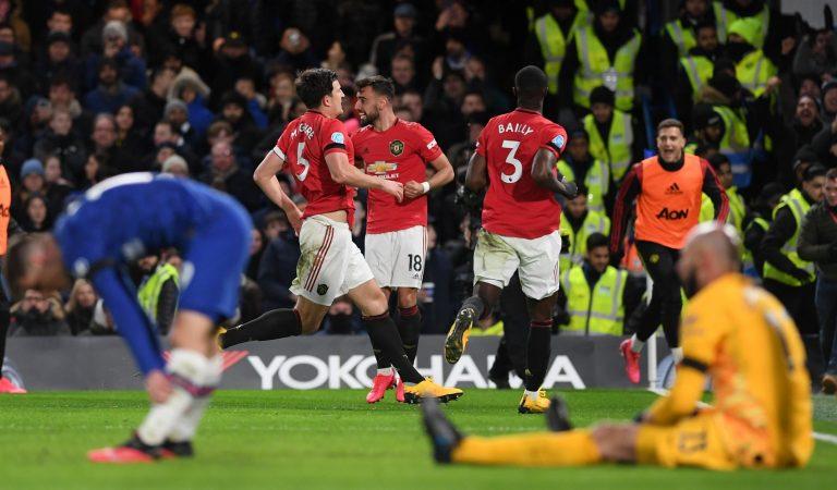 Manchester United se mantiene en la pelea por el TOP 4 de la Premier tras vencer al Chelsea