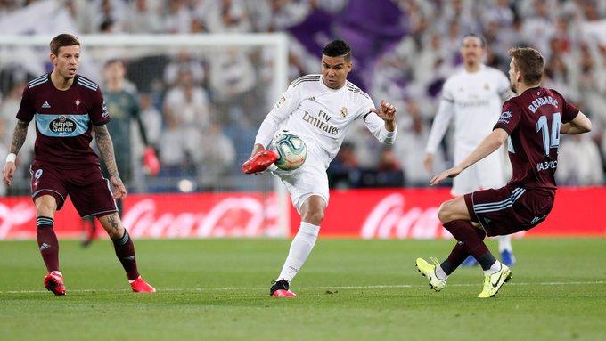 Real Madrid pierde puntos en el Bernabéu ante el Celta