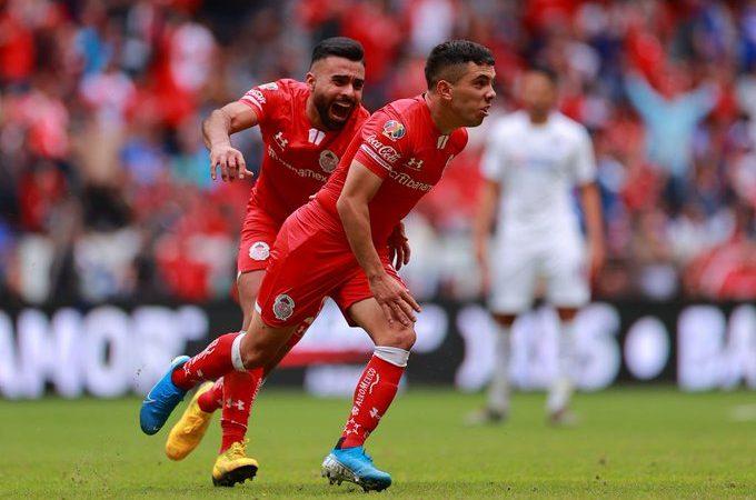 El Toluca le arrebata el triunfo al Cruz Azul