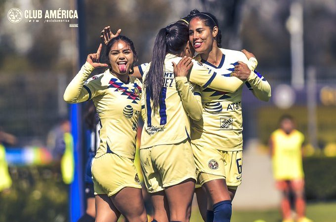 América gana, gusta y golea en casa ante Querétaro