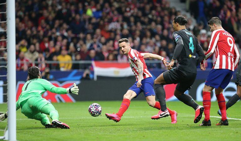 Atlético de Madrid le pega al campeón de Europa en octavos de Champions League
