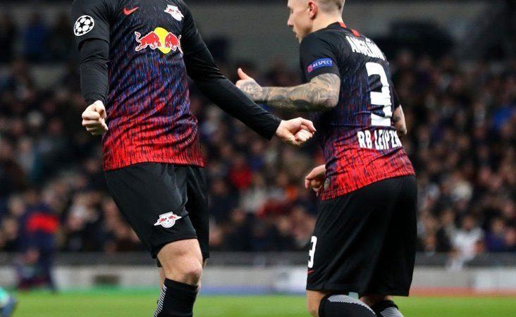 Leipzig sacó ventaja en Londres y Atalanta sacudió al Valencia