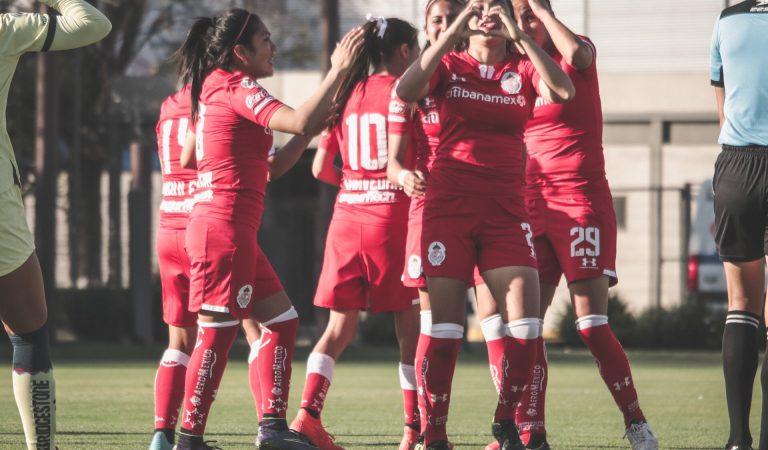 Toluca terminó con el invicto del América en la Liga MX Femenil