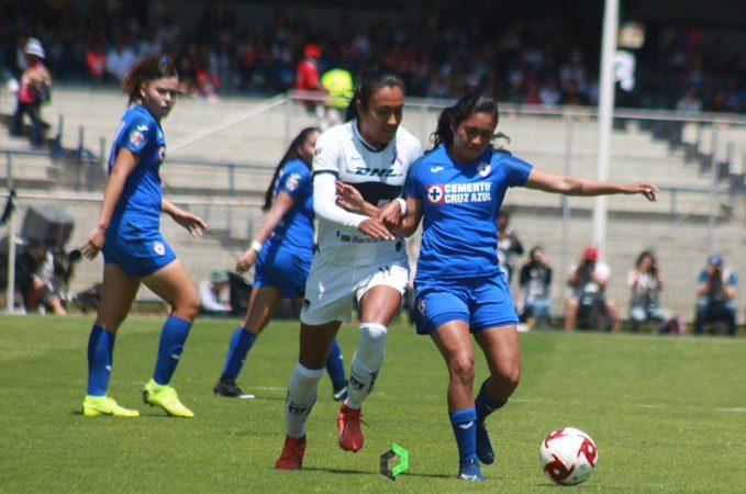 Pumas Femenil con empate ante Cruz Azul, hace historia en Ciudad Universitaria