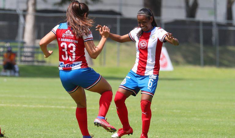 Chivas vence al Toluca en último juego de Liga MX Femenil antes de su suspensión
