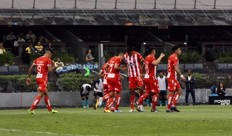 Necaxa rompe la mala racha tras golear al América en el Estadio Azteca