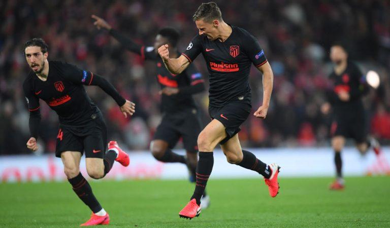 Atlético de Madrid elimina al Liverpool de la UEFA Champions League