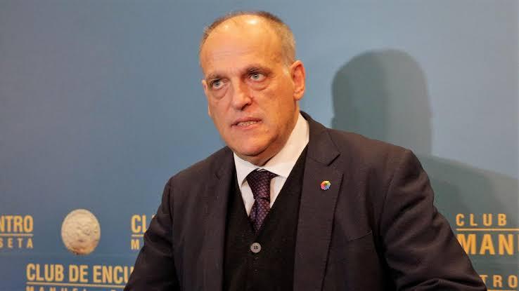 Javier Tebas da una estimación sobre la reanudación del futbol en Europa