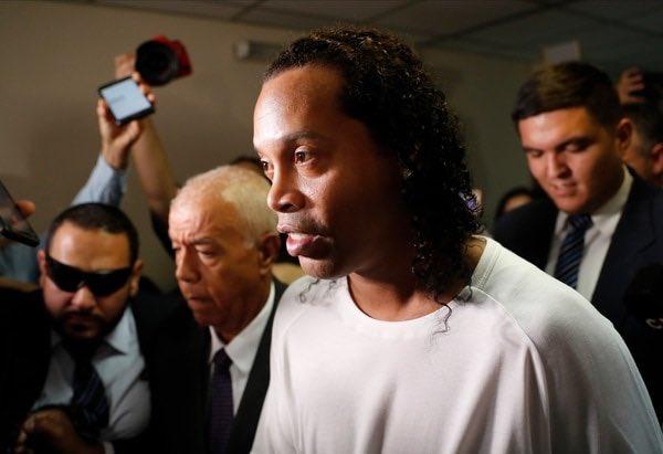 Ronaldinho será liberado en Paraguay
