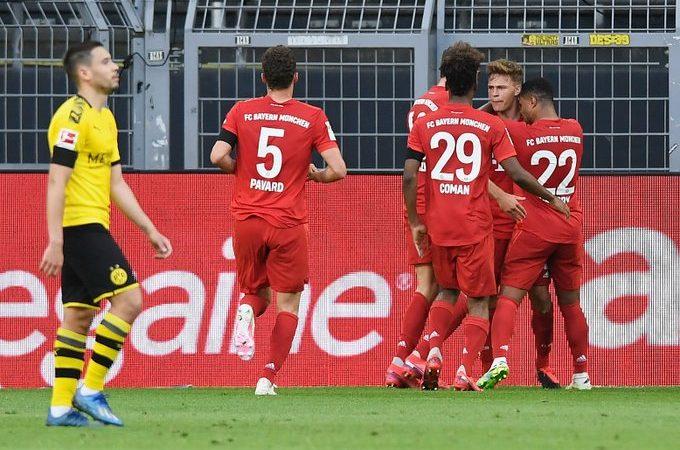 Bayern Múnich, más cerca del título de la Bundesliga tras ganar el Der Klassiker