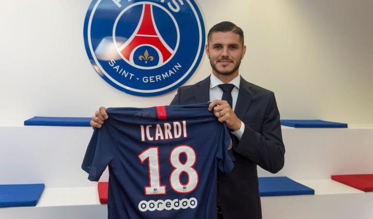 Paris Saint-Germain hace válida la opción a compra por Mauro Icardi