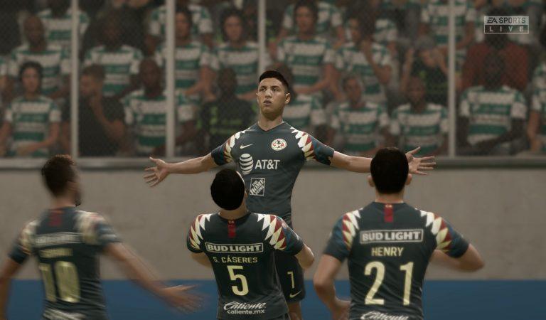 América y Necaxa golean en inicio de jornada 12 de la e Liga MX