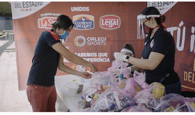"""Atlas realiza campaña: """"Héroes del Estadio"""""""