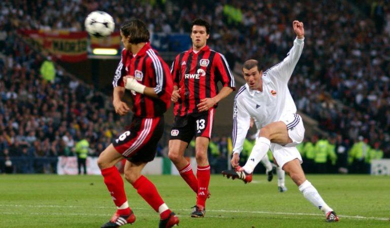 El gol de volea de Zidane, el más bonito de la Champions League